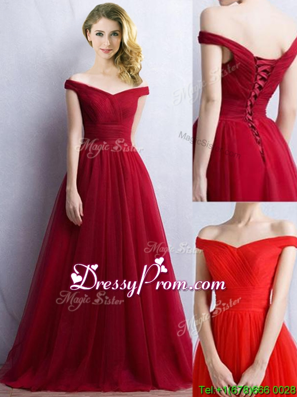 Off the shoulder Neckline Quinceanera Dress, Off the shoulder Prom ...