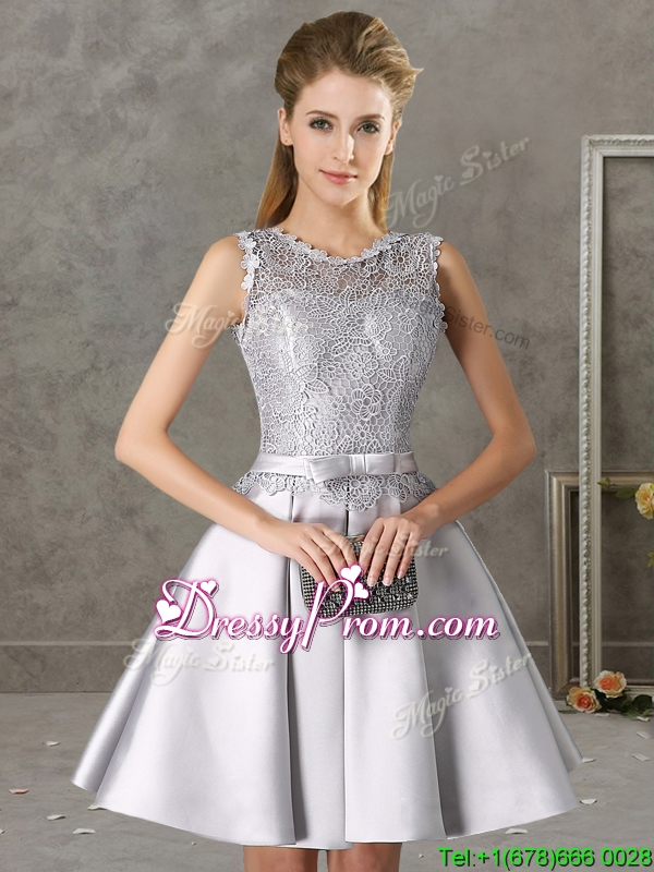 Silver dresses for quinceanera damas