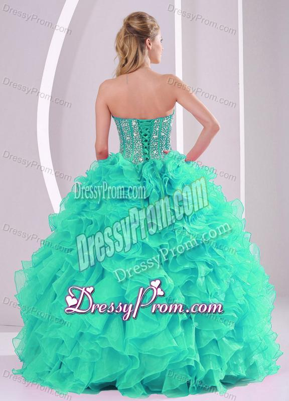Quinceanera Dresses Turquoise And Green Quinceanera gownsQuinceanera Dresses Turquoise And Green