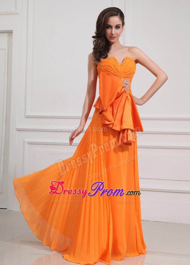 orange prom dress  new quinceanera dresses