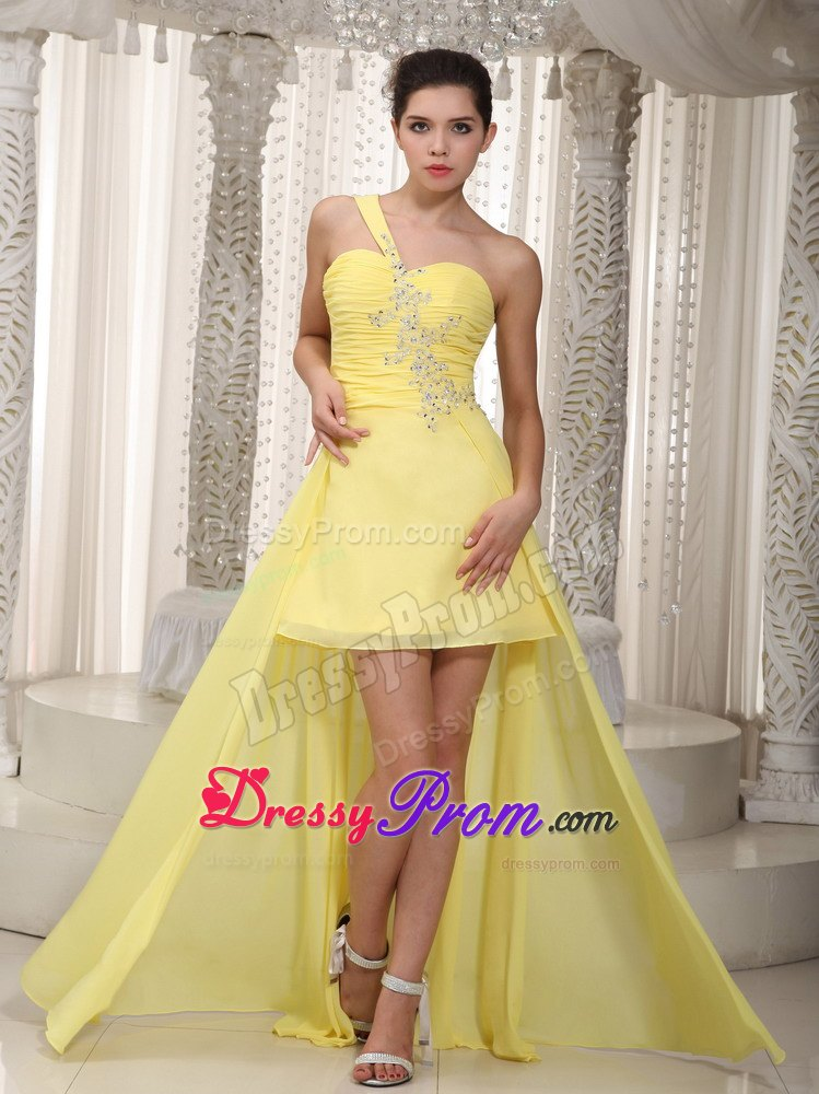 Popular Yellow Plus Size Prom DressesBuy Cheap Yellow