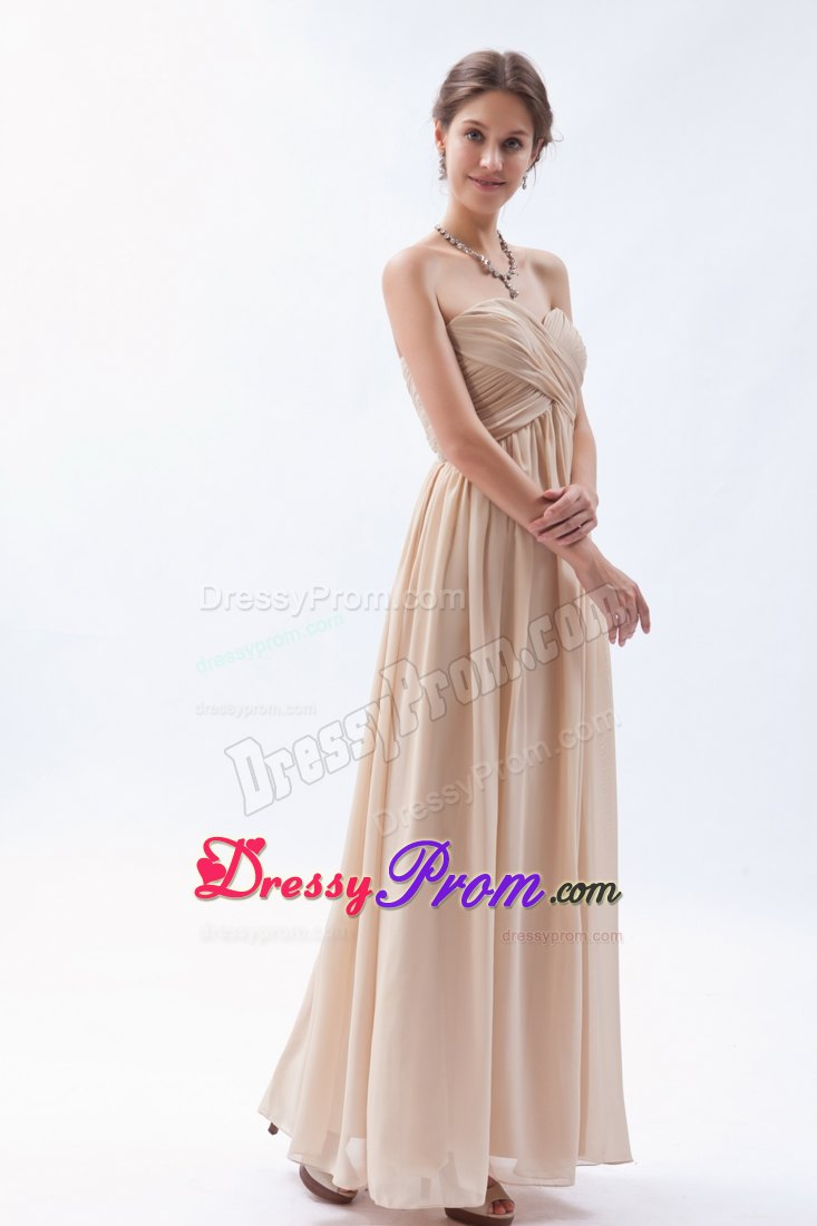Champagne Color Prom Dresses 2014 images