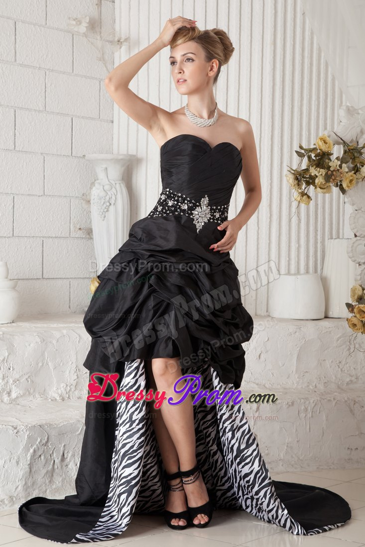 Zebra Graduation Dresses 50