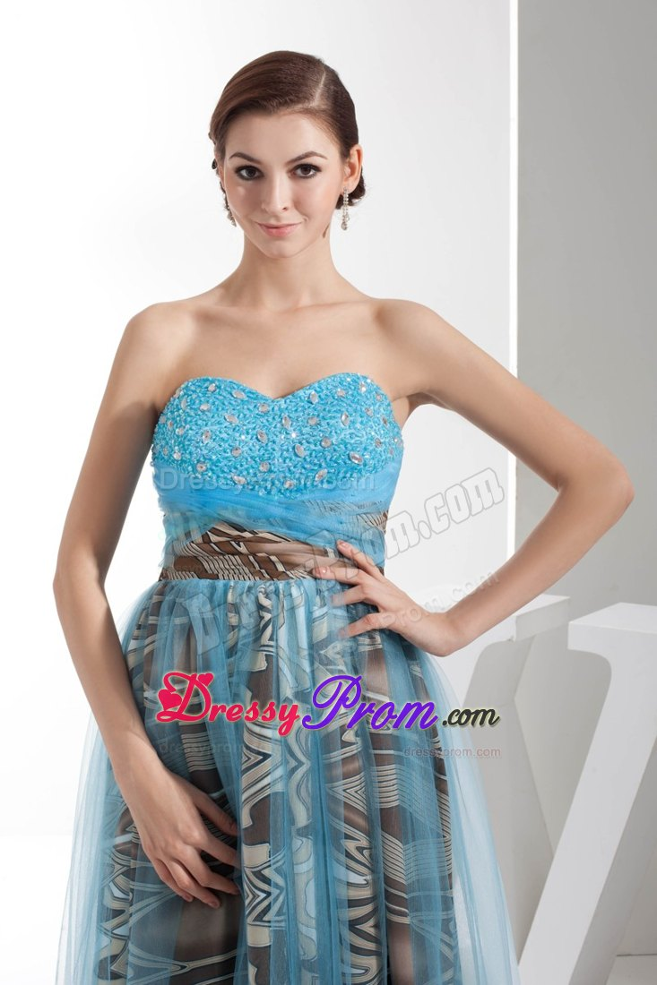 Sweetheart Beaded Multi-Color Prom Holiday Dress Patterns