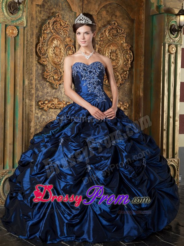 Collection Navy Blue Military Ball Gown Pictures - Hausse