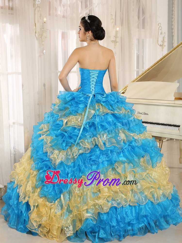 royal blue and gold quinceanera dresses Quotes