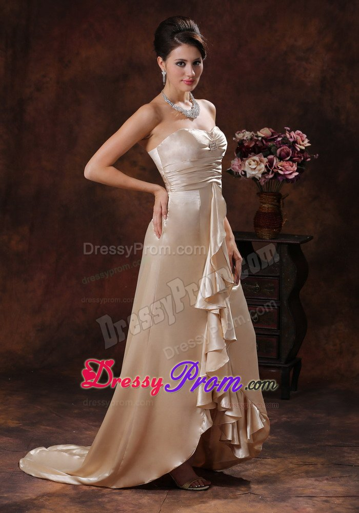 Champagne Prom Dress 2018 Shop New Champagne Gold Evening