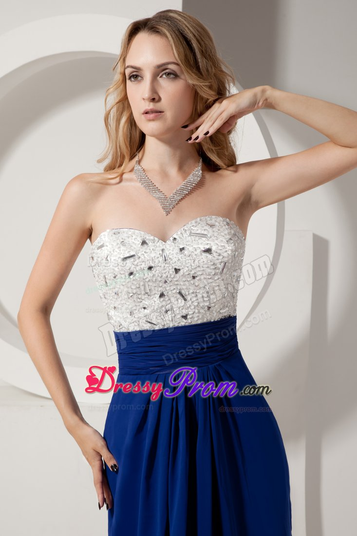 White and blue homecoming dresses 2013
