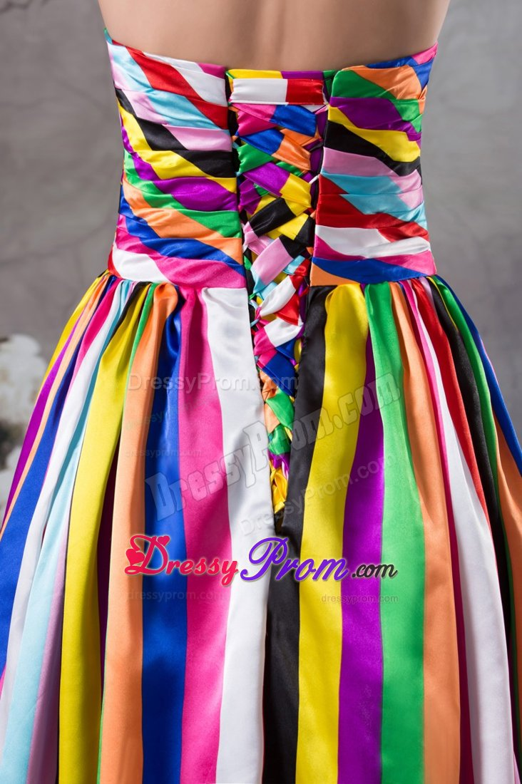 Multi Colored Prom Dresses Multi-color Swee...