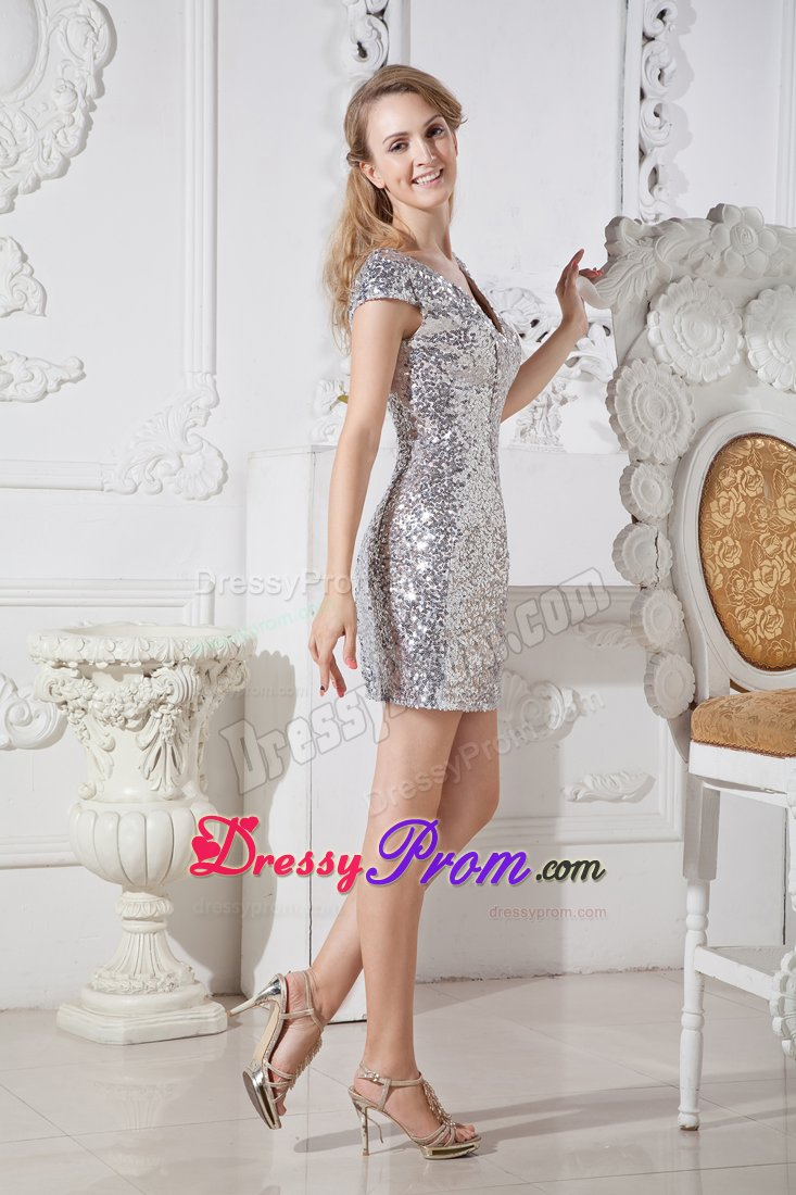 Silver Dress for Teens