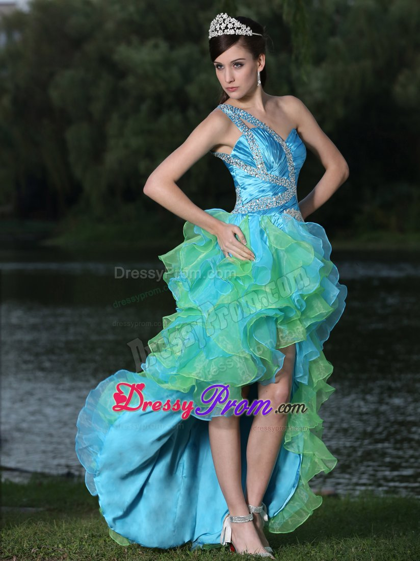 Blue High Low Homecoming Dresses_Other dresses_dressesss