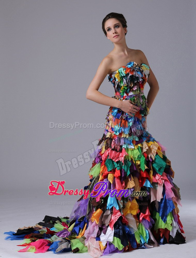 Multicolor formal dresses