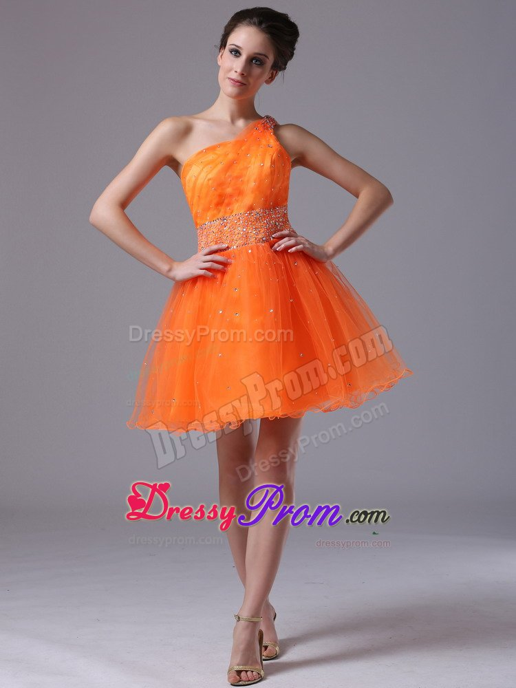 Orange Prom Dresses,Orange Quinceanera Dresses