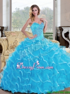 The Super Hot Ball Gown Sweetheart Quinceanera Dress with Beading