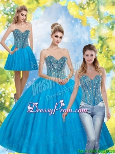 Beautiful Beading Sweetheart Quinceanera Dresses for 2015