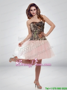 Popular A Line Sweetheart Camo 2015 Prom Dresses