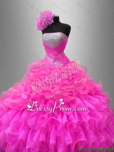 Ball Gown New Style Quinceanera Dresses with Sequins
