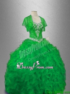 Gorgeous Sweetheart Quinceanera Gowns with Beading