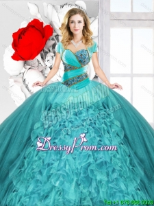 New Style Spring Sweetheart Quinceanera Dresses with Lace Up