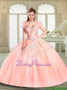 Pretty Sweetheart Beading Quinceanera Gowns for Spring