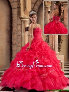 Pretty Ball Gown Sweetheart Floor Length Quinceanera Dresses