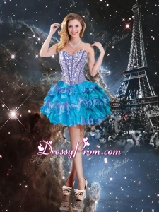 Hot Sale Sweetheart Mini-length Prom Dress in Multi Color