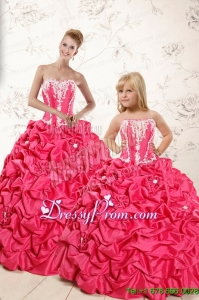 Classical Ball Gown Sweetheart Dresses with Appliques