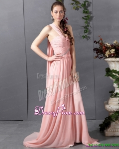 Clearance 2015 Comfortable Sweetheart Prom Dress with Watteau Train