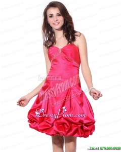 Fashionable Sweetheart Pretty Prom Dresses with Pick Ups and Beading
