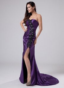 Latest Mature Sweetheart Beaded Appliqued Prom Dresses for Wholesale