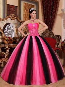 Multi-color Sweetheart Floor-length Beading and Ruche Dresses 15