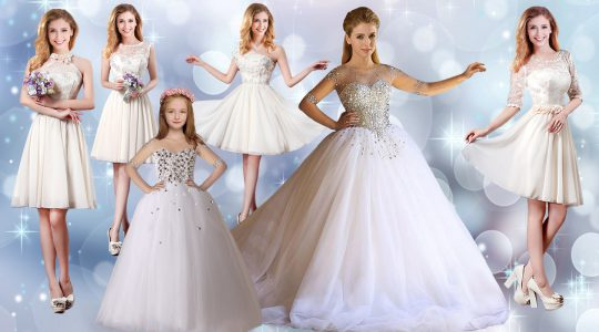 Fantastic Ball Gowns Ball Gown Prom Dress White Scoop Tulle Half Sleeves Floor Length Lace Up