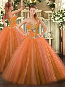 Inexpensive Sleeveless Lace Up Floor Length Beading Quinceanera Dresses