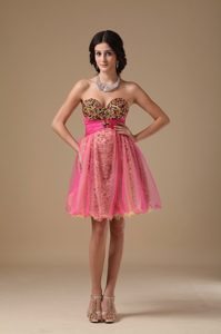 A-line Sweetheart Multi-color Organza Dresses For Prom Night with Beading