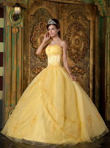 Light Yellow Prom Dresses,Light Yellow Quinceanera Dresses