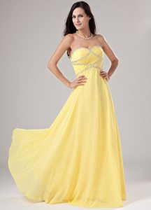 Gardena CA Sweetheart Chiffon Prom Holiday Dresses with Beading