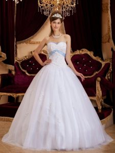 South San Francisco CA Beaded White Organza Quinceanera Dresses