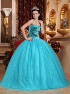 Sweetheart Quinceanera Gowns Beading and Sequins in Joao Pessoa