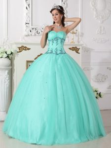 Sweetheart Appliques Dress for Quinceanera Beading in New Style