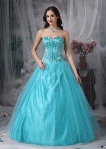 fashionable Beading Sweetheart Dresses for Prom Tulle with Lace up Back