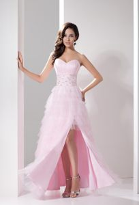 Ankle-Length Sweetheart Ruffled Prom Dress Colors To Choose