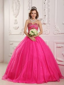 Brand New Style Sweetheart Ball Gown Dresses for a Quince Beading