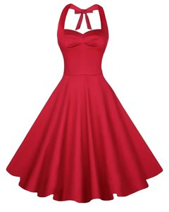 Captivating Knee Length Red Prom Evening Gown Sweetheart Sleeveless Backless